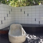 Outdoor bathroom in Mango