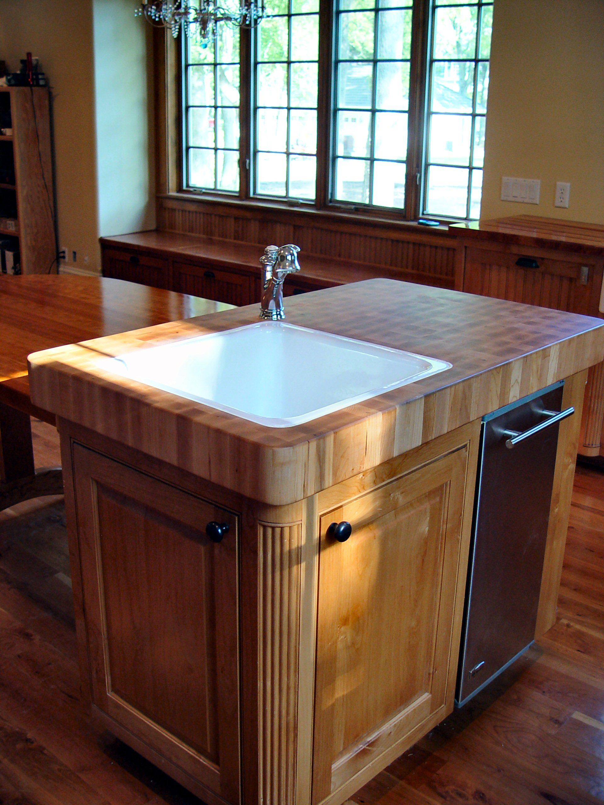 Hard Maple Wood Countertop Photo Gallery, by DeVos Custom ... on Maple Countertops id=50248