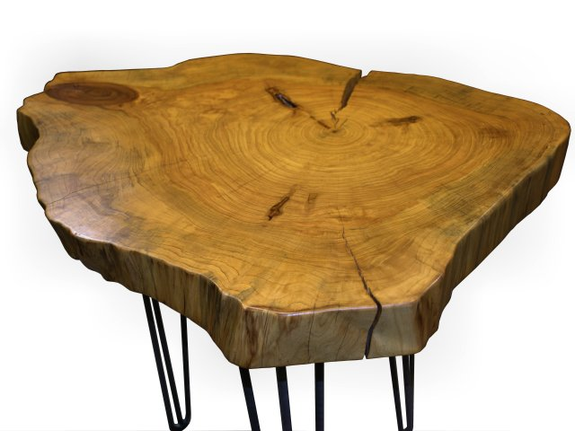 DeVos Custom Woodworking - Custom Wood Tables with Metal Bases