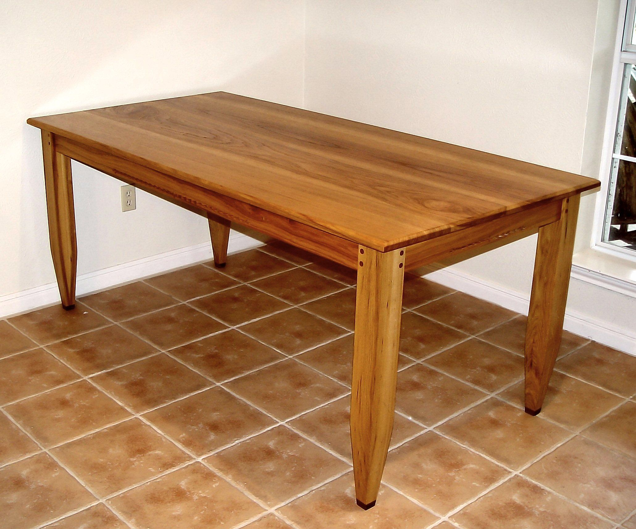 Kay La Traditional Woodworking Table