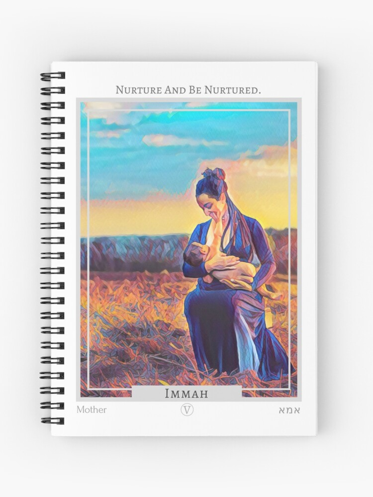 Immah (Mother) from the Eht/Aht: a Netivot Wisdom Oracle: https://www.redbubble.com/shop/ap/41276720