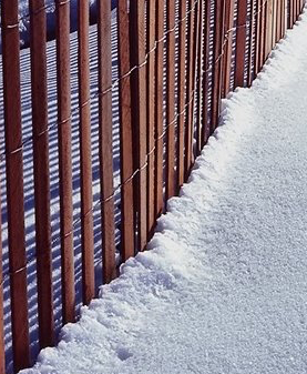 Wooden Snow Fence