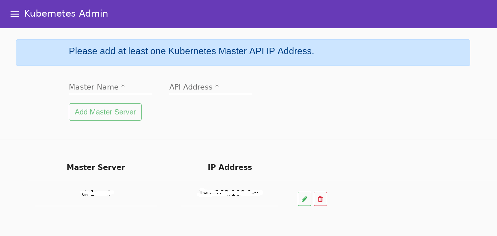 Web GUI/UI - Administrating A Kubernetes Cluster Created