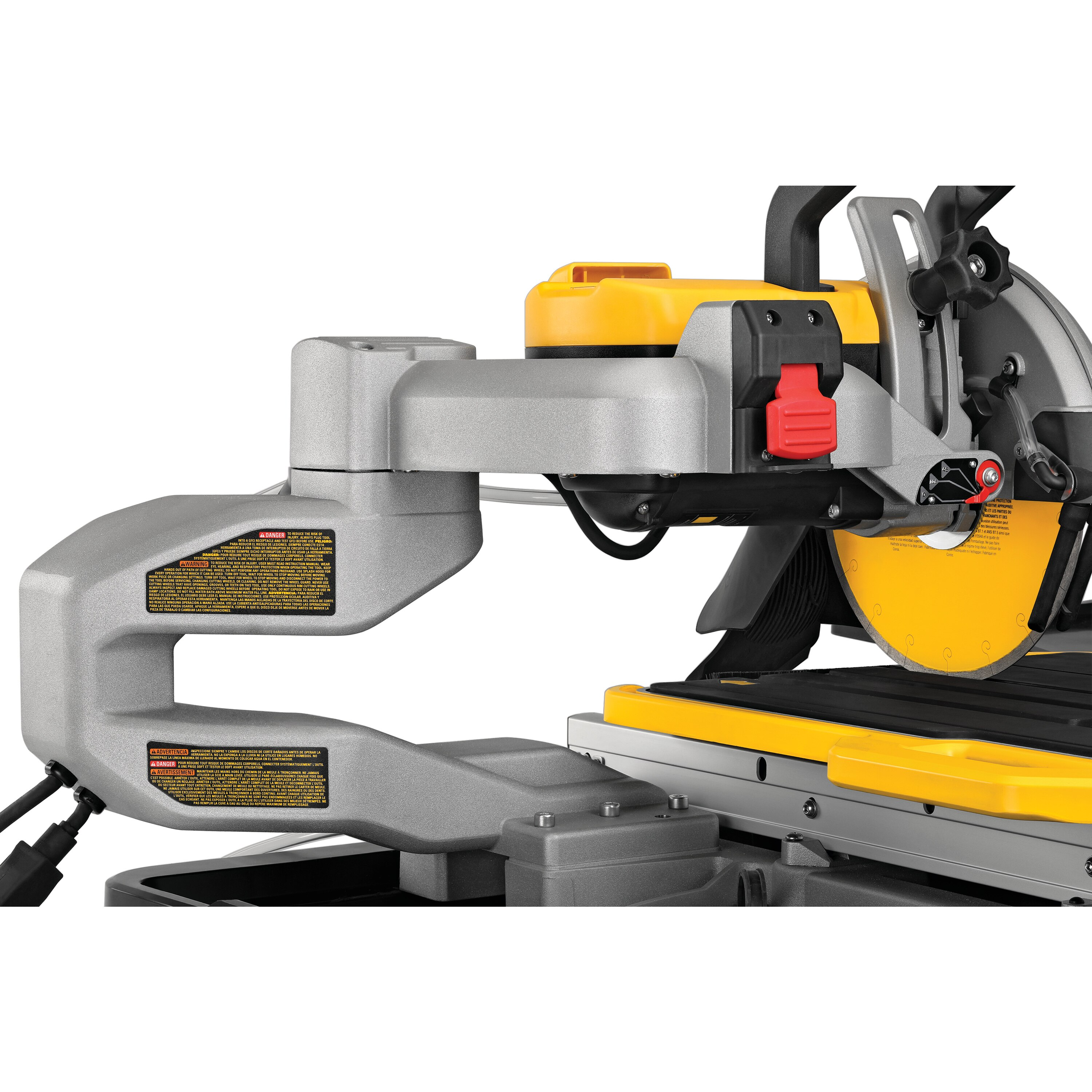 10 in high capacity wet tile saw with