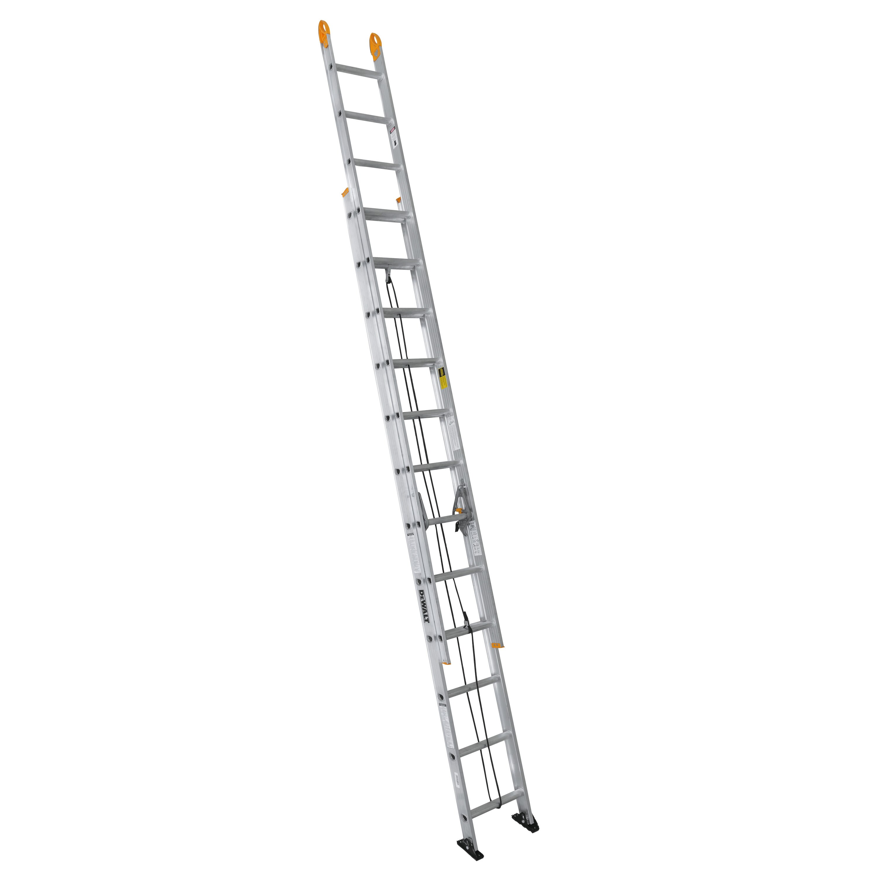 24 Ft Aluminum 225 Lb Type Ii Extension Ladder