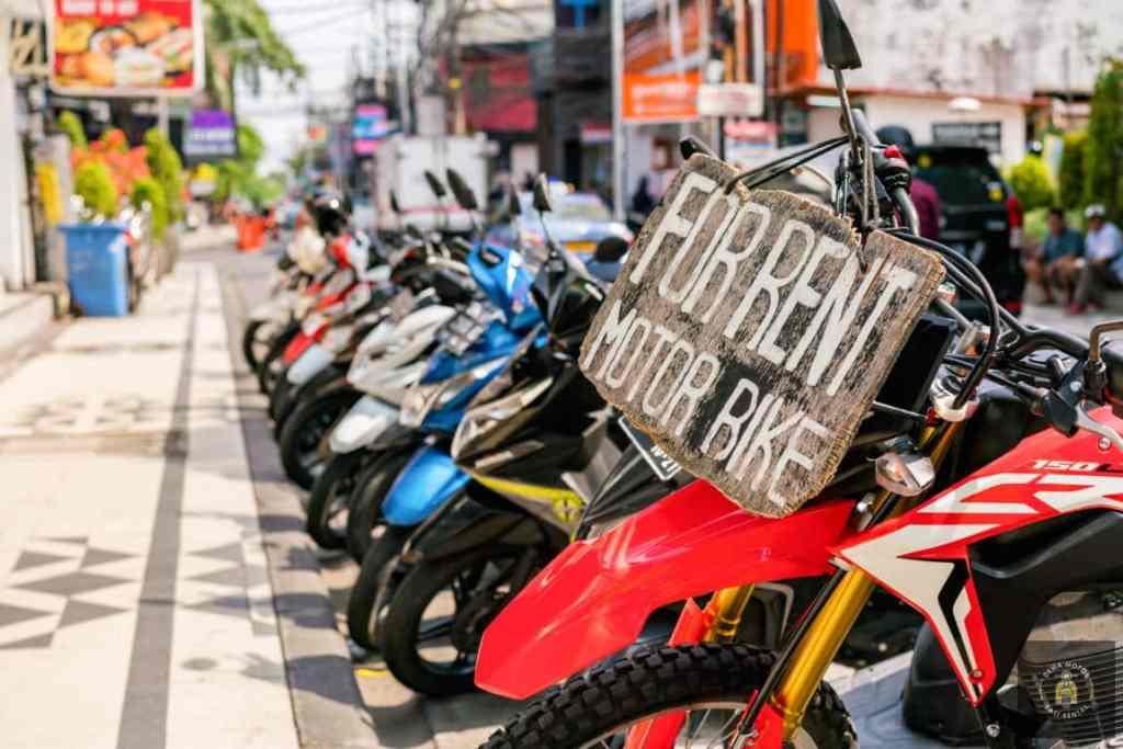 Sewa Motor Murah Ubud