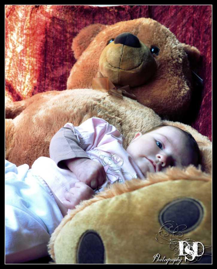 Teddy Care baby photographer Johannesburg DSD Photography
