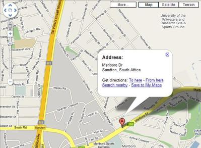 Google Maps South Africa Updated… At Last - Shaun Dewberry on