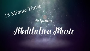 15 Minute Meditation Timer