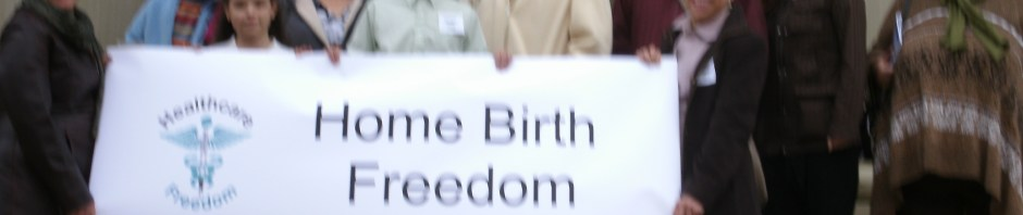 Home Birth Freedom Lobby Day in Capitol to support midwife and family rights in Michigan.