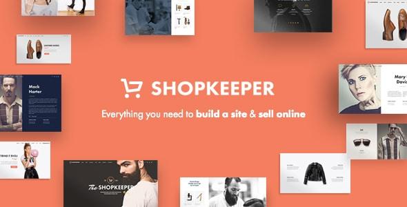 Shopkeeper tema premium para tienda online