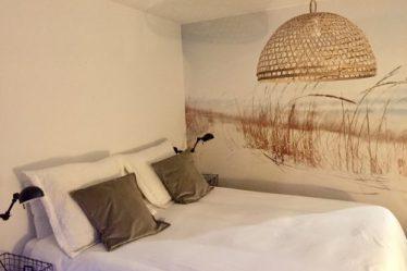 Slaapkamer strand stijl