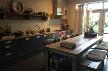 Landelijke stoere keuken
