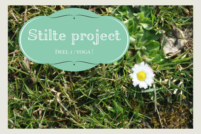yoga als oefening in het stilte project