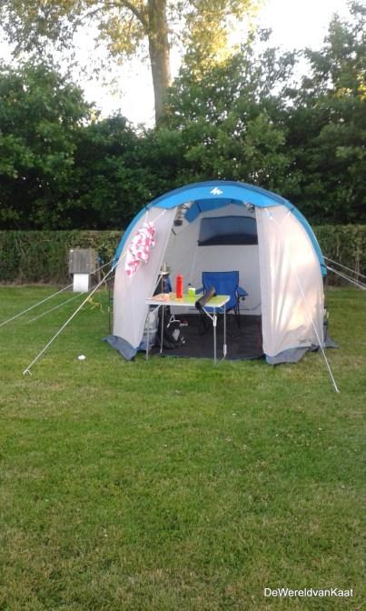 ontdekking : de tent