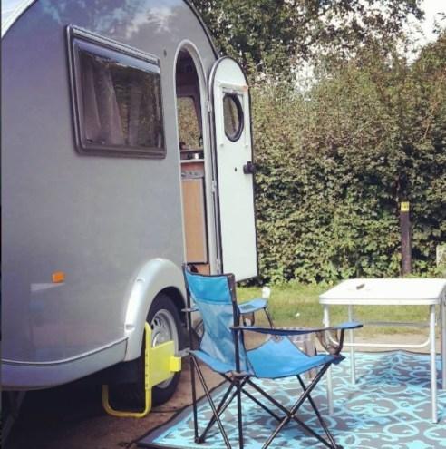 kamperen in Gent