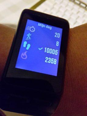 10 000 stappen Garmin VivoActive