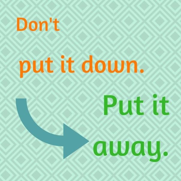 outer order, inner calm : zie hier de meest praktische regel!
