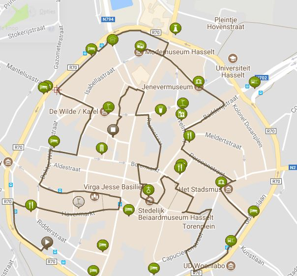 stadswandeling Hasselt