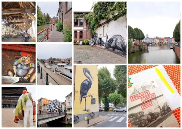 Stadswandeling Gent / Graffitiwandeling Gent