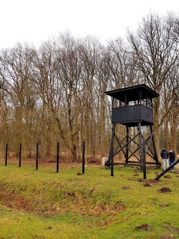 Westerbork, het kamp waar Etty Hillesum in barakken verbleelf.