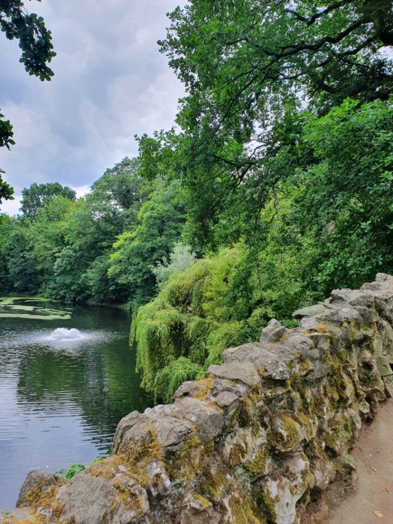 Stadsparken en volkstuintjes Boekenbergpark