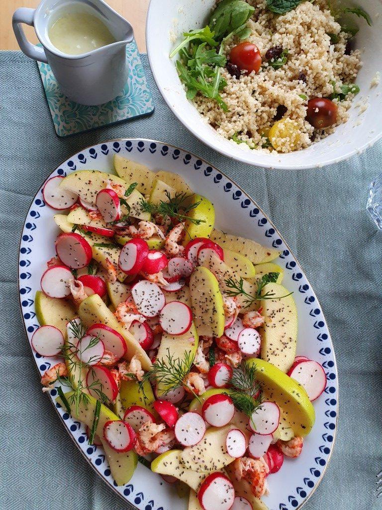 zomersalade - recept uit Time van Gill Meller