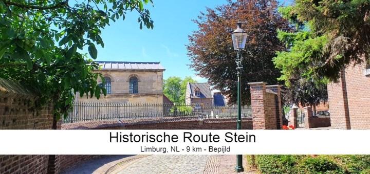 Historische route Stein