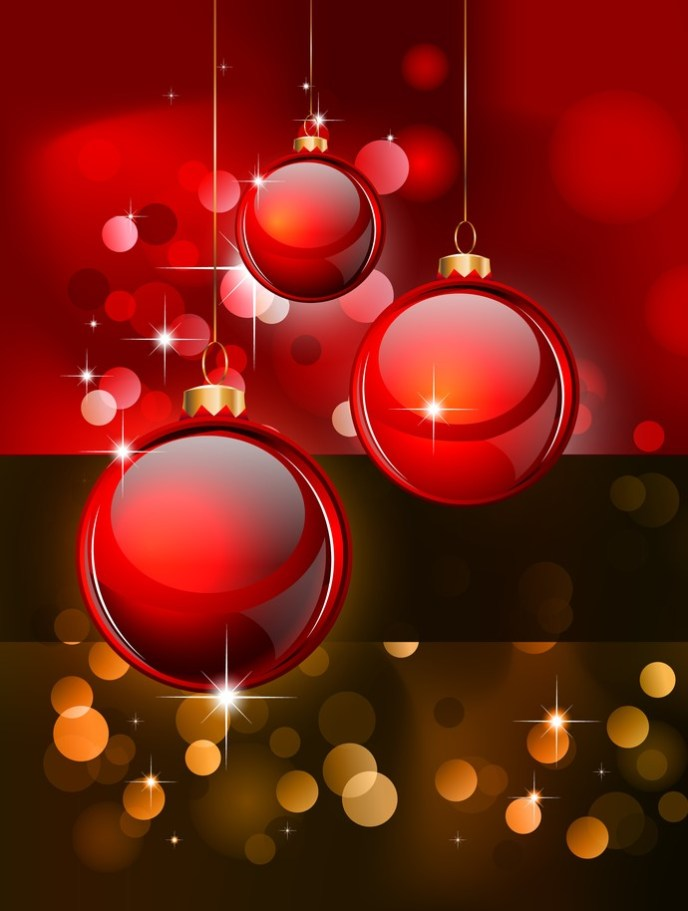 Merry Christmas Elegant Background for Flyers or Posters