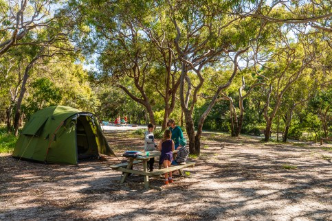 Waddy Point campground