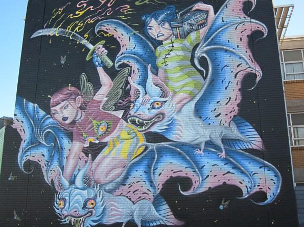Mural At Benallla