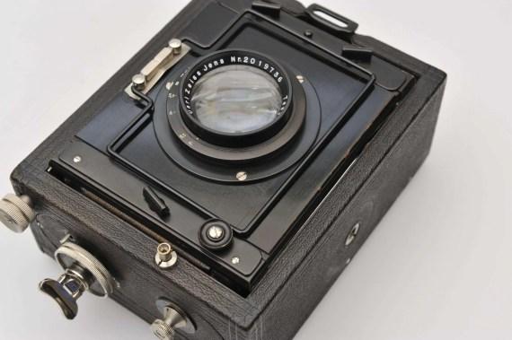 antieke platencamera