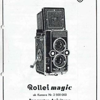 Rollei Magic reparatiehandleiding