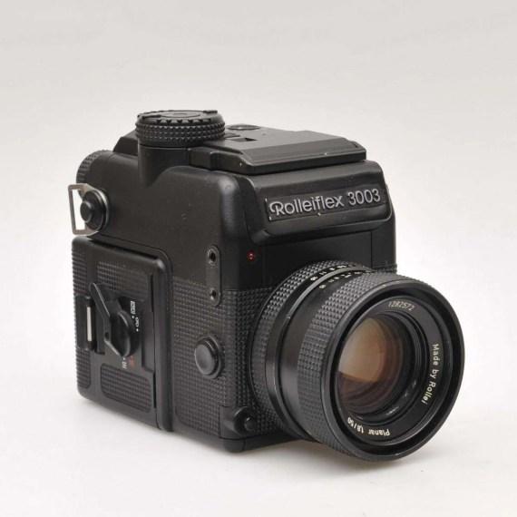 Opknapper: Rolleiflex 3003 met Planar 1.8/50mm