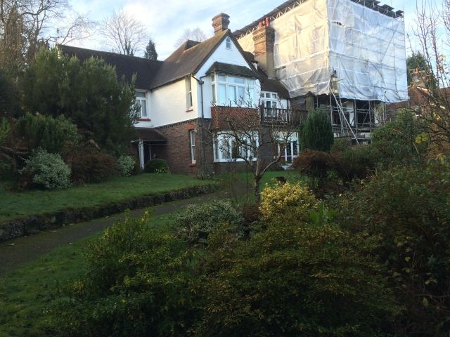 Prior to work starting, Lynton, East Grinstead