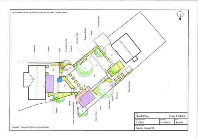 Sketch Plan - Rendered, Littlewood, Sussex