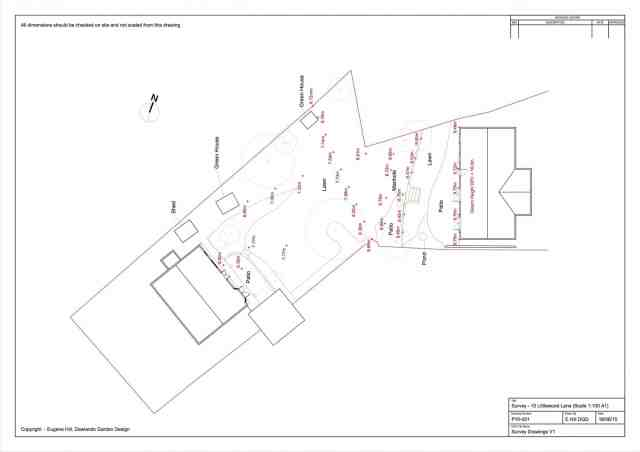 Survey Drawings, Littlewood, Sussex