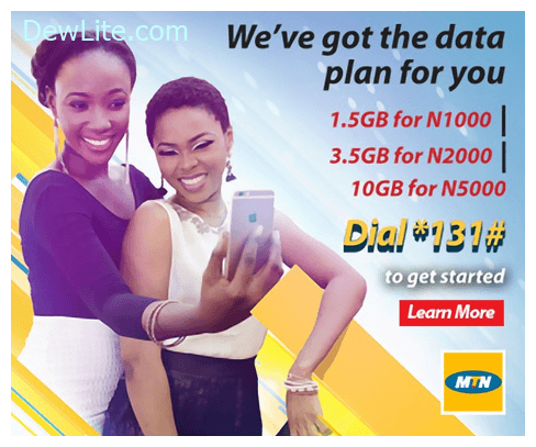 Latest MTN data plans For Android, iPhone And Modems