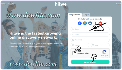 HitWe Sign Up - Sign In HitWe | Hitwe Login - www.hitwe.com