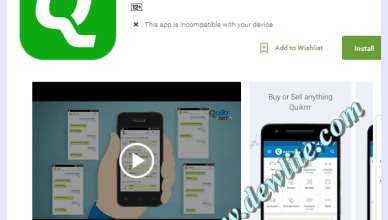 Quikr app download
