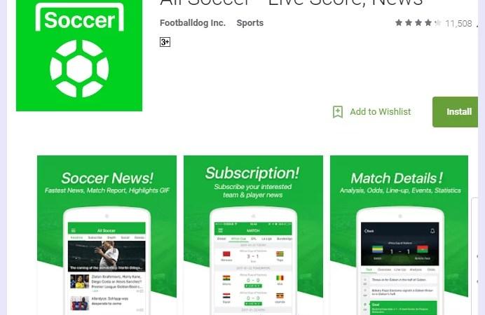 all soccer app download