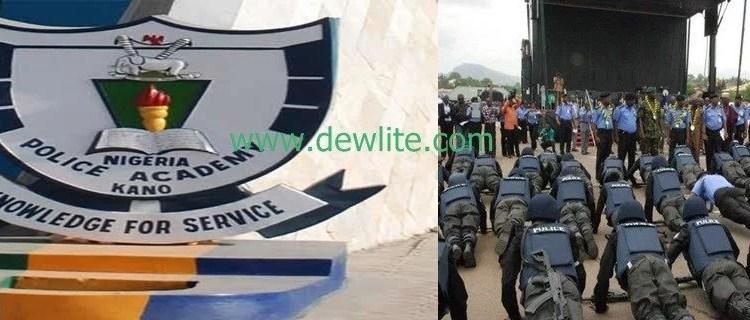 Nigeria Police Academy courses 2018/2019