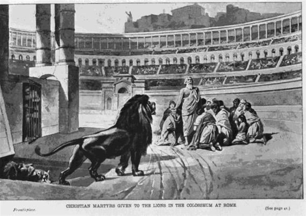 Afbeeldingsresultaat voor christenvervolging romeinse rijk