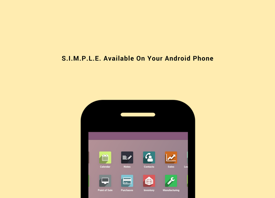 Now S.I.M.P.L.E. By Dexciss Is Available On Your Android Phones And You Can Download The App From Here