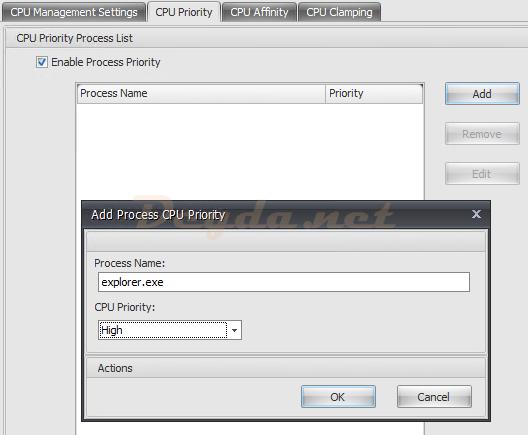 System Optimization CPU Management CPU Priority
