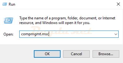 Computer Management compmgmt.msc