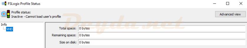 FSLogix Profile Status Tool