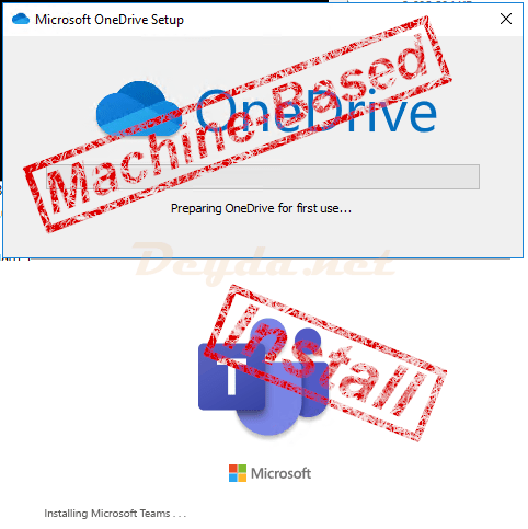 Teams & OneDrive in Citrix installieren (Machine-Based)