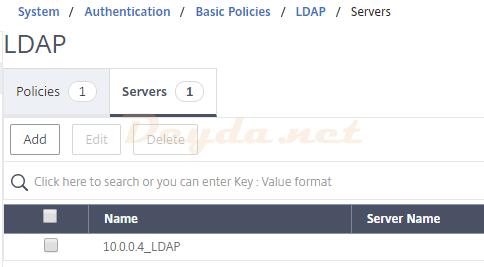 LDAP Servers