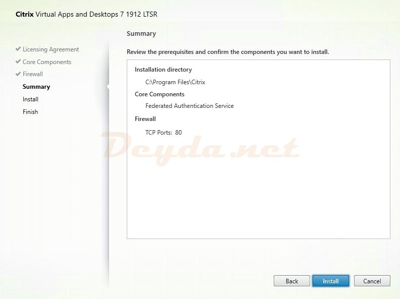 Citrix Virtual Apps and Desktops 7  Summary